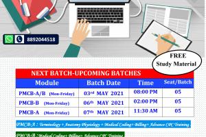 next batch May2021
